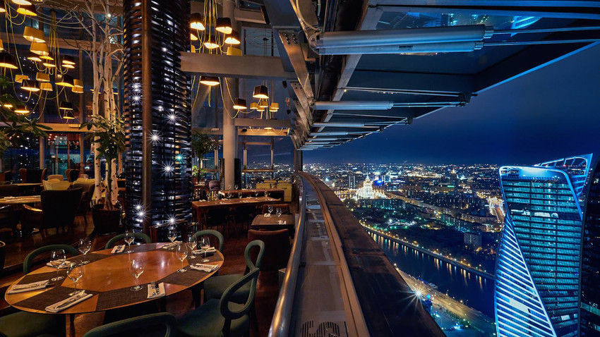 5 Restaurants With Incredible Views Of Moscow Russia Beyond