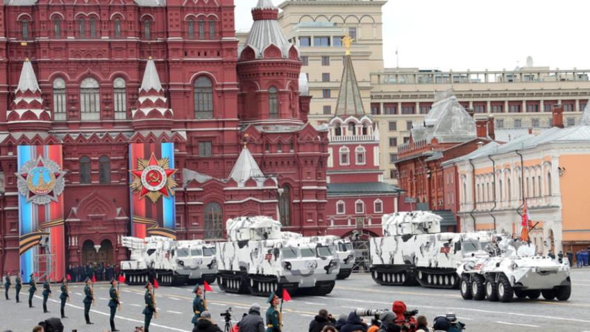 Parada zmage v Moskvi, 2017.