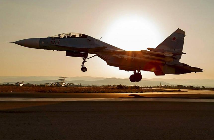 Lovec Suhoj Su-30SM.
