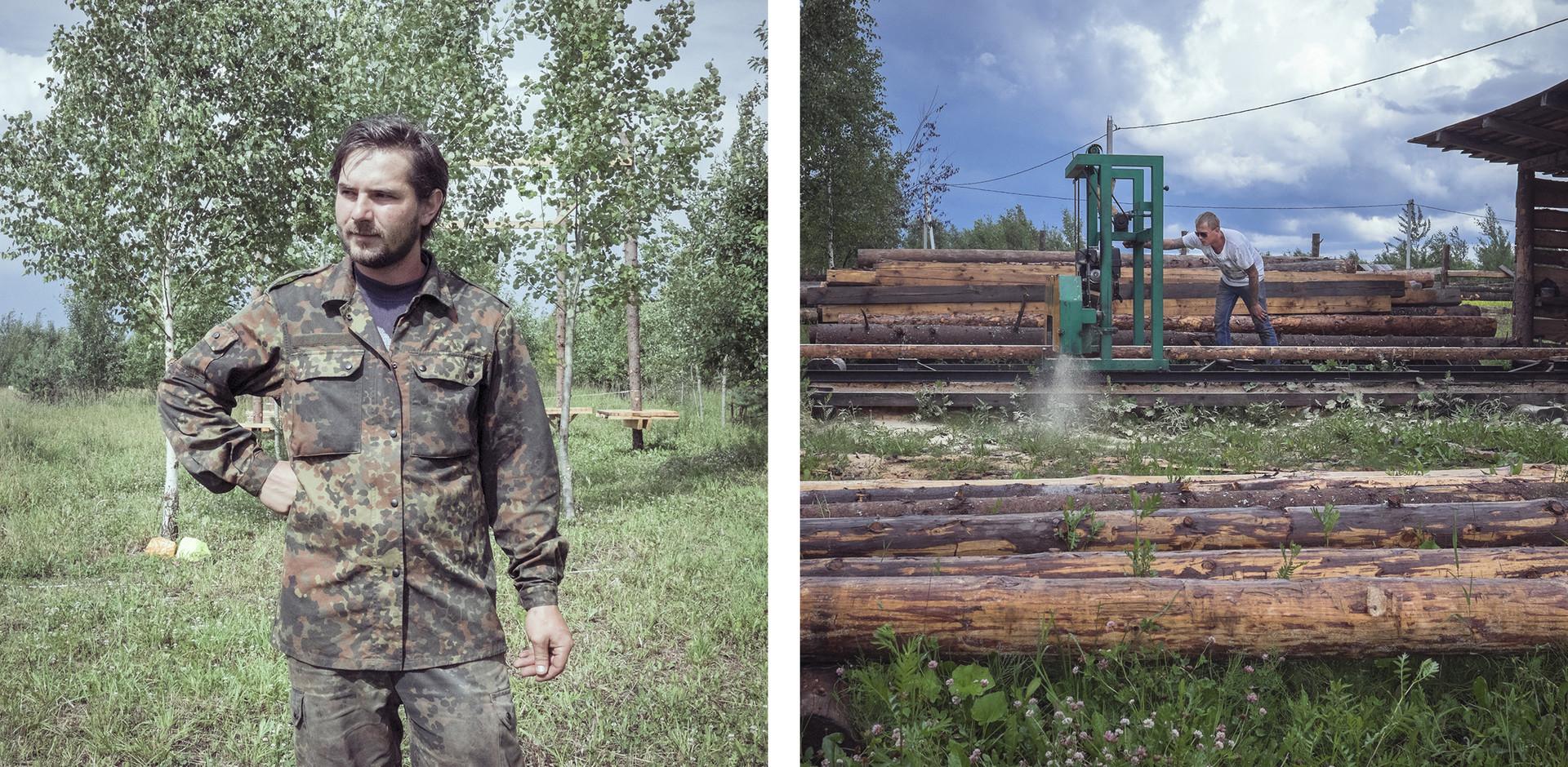 Alekseï, un ami de Mikhaïl, est venu s'installer à la ferme avec son épouse, Polina, il y a 4 ans.