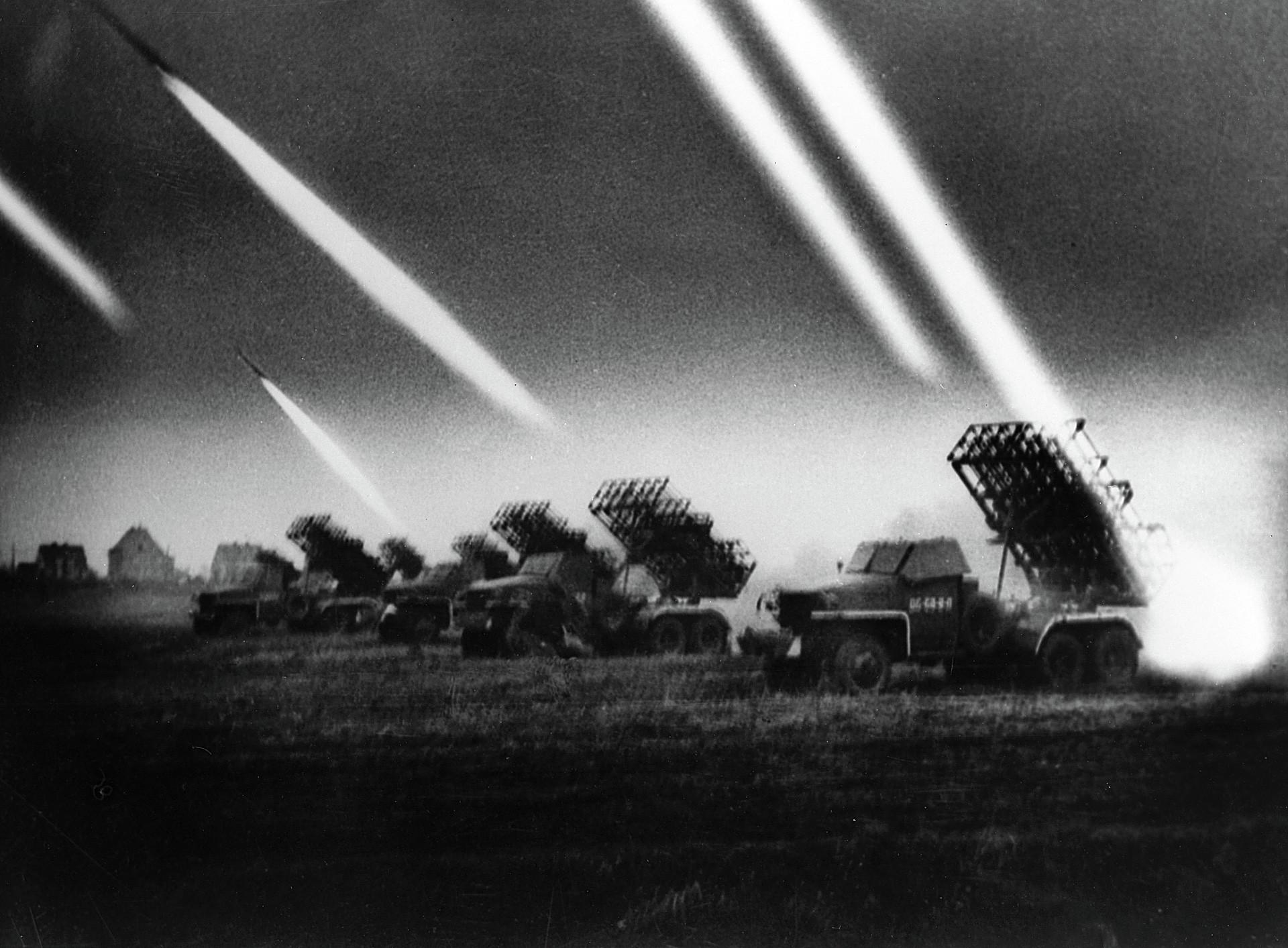"""""""Каћуша"""". Плотун гардијских бацача ракета."""