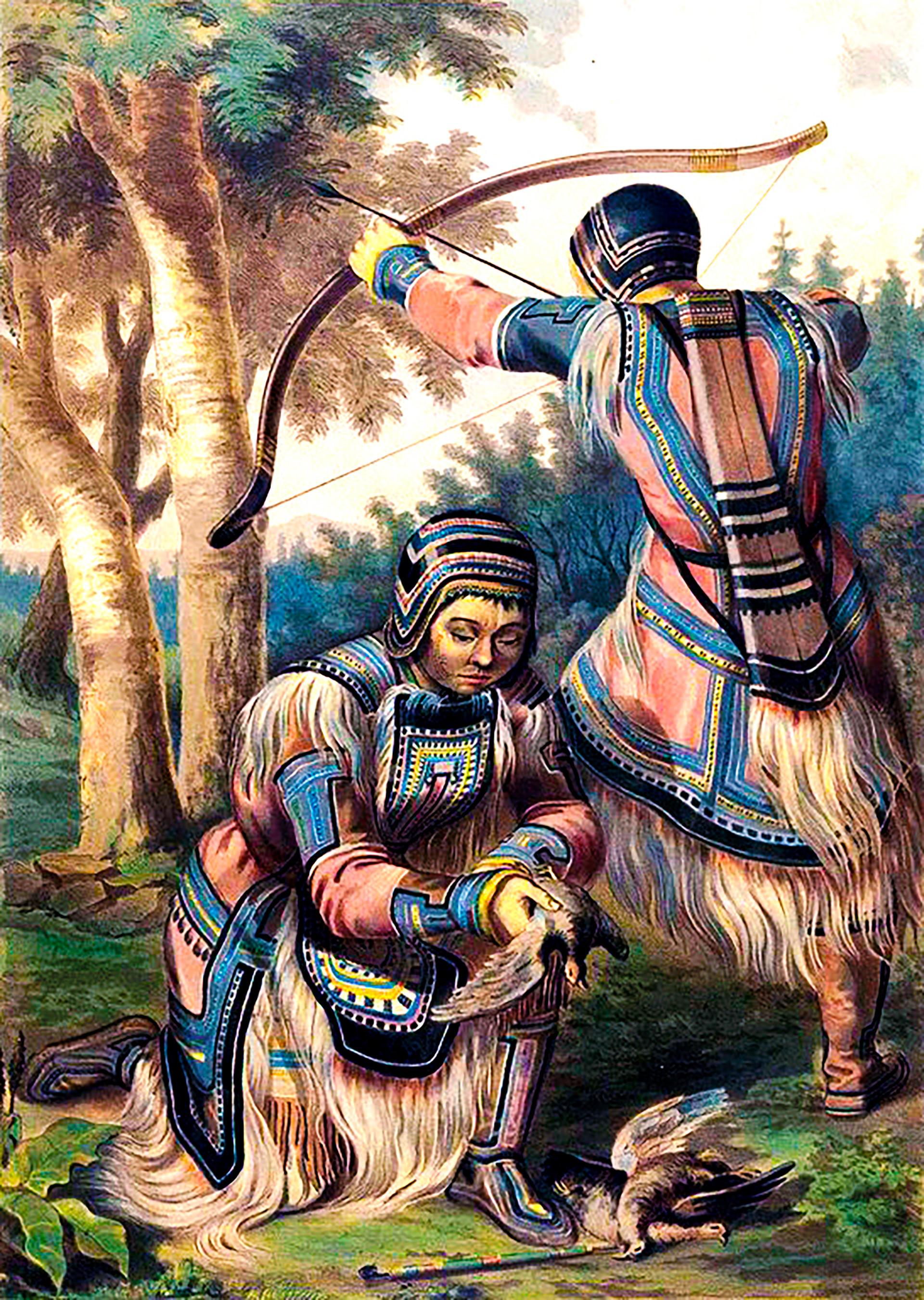 Evenki, antiguamente denominados tungús, son un pueblo indígena originario de la zona norte de Siberia en Rusia.