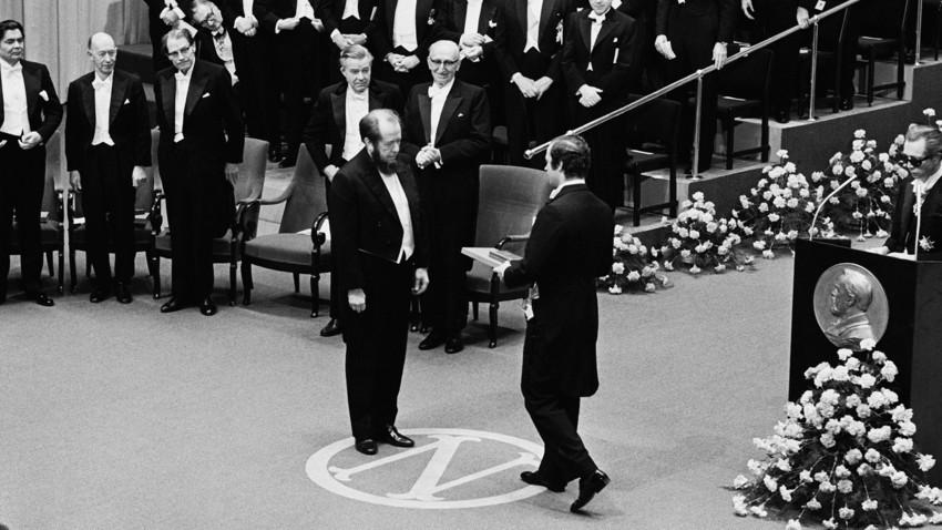 1970 erhielt Solschenizyn den Literaturnobelpreis