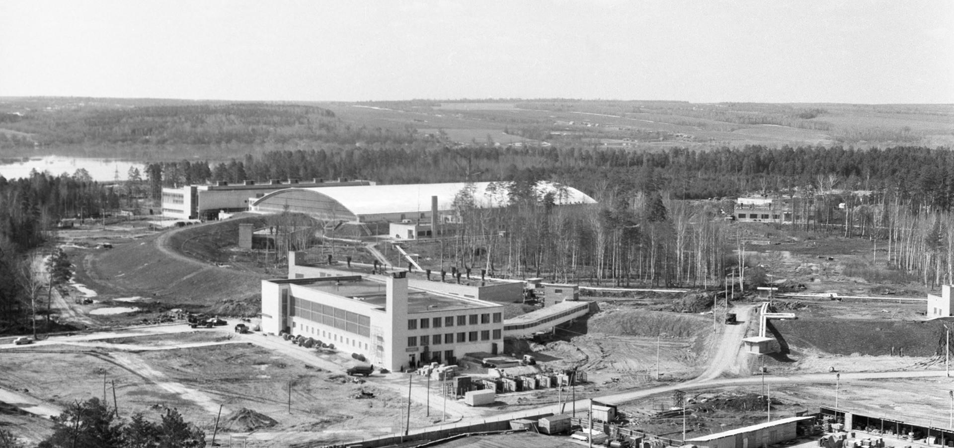 Institut Fisika Energi Tinggi di Protvino, Moskow.
