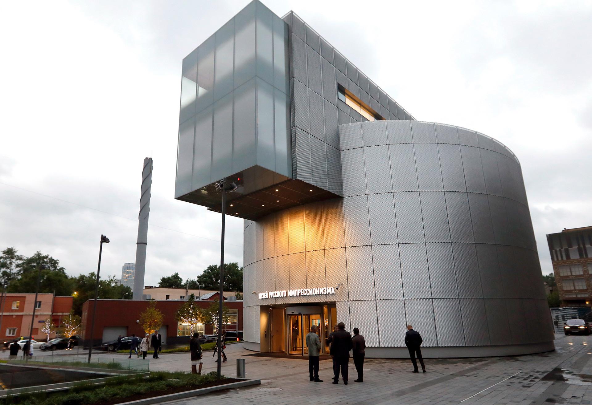 Museu do impressionismo fica localizado em antigo armazém de farinha.