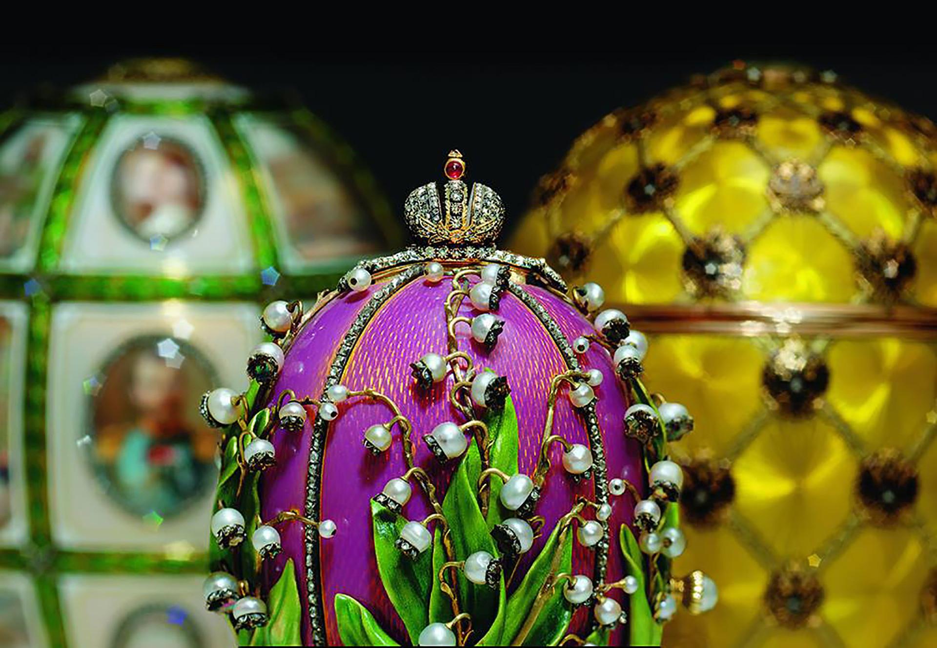 Nem só de ovos Fabergé vive o museu, que já recebeu exposições de Frida Kahlo e Dalí.