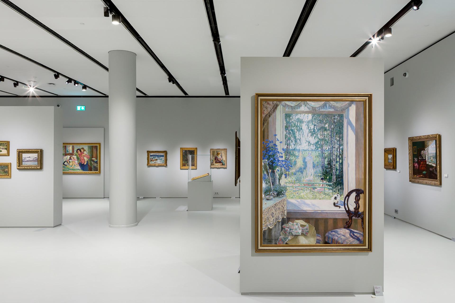 Interior do Museu do Impressionismo Russo.