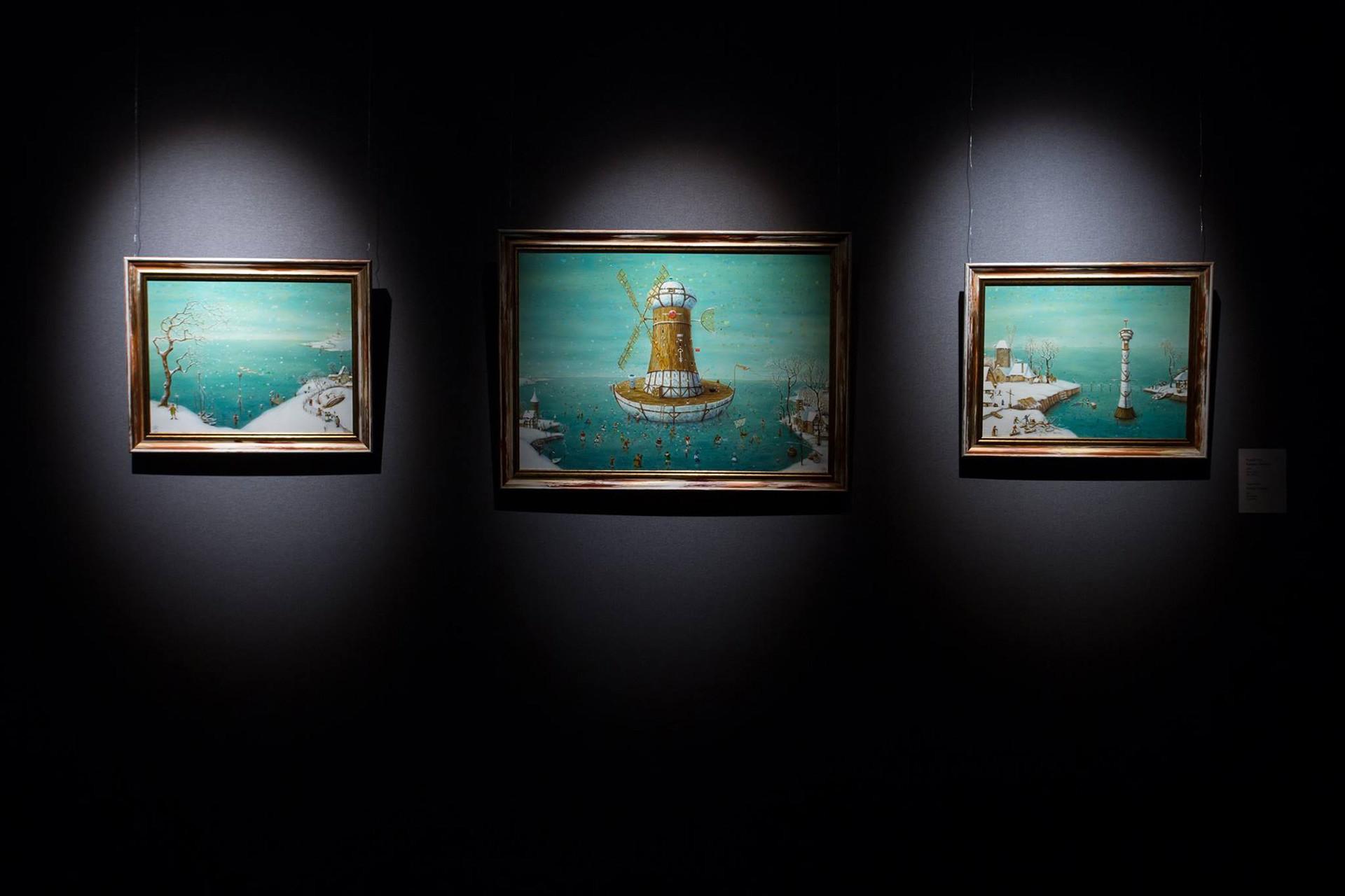 Mostra no Museu Erarta, que também recebe peças de teatro e performances musicais.