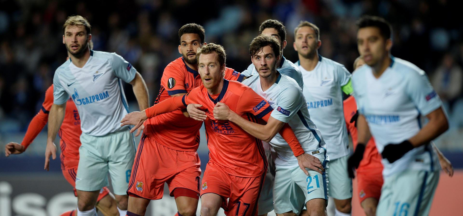 УЕФА лига Европе – ФК Реал Сосиједад vs ФК Зенит Санкт Петербург