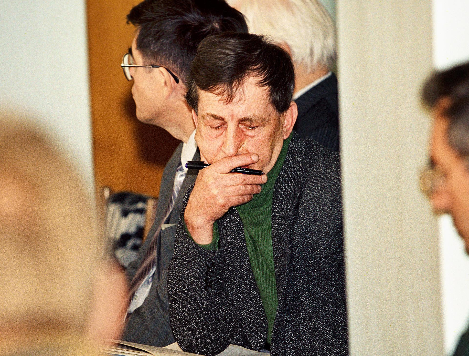 Анатолиј Бугорски, главниот координатор на експерименталните работи на акцелераторот У-70, Институт за физика на високи енергии, Протвино.