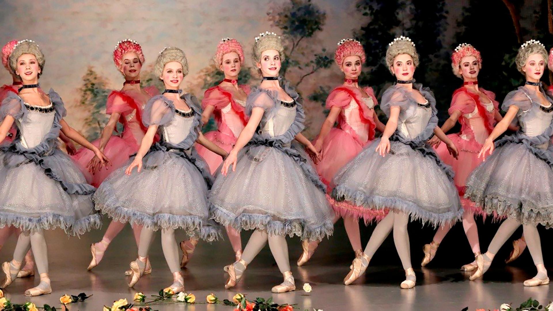 Balet u Mariinskom teatru.
