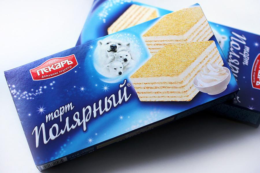 ポリャルヌイ・ワッフルケーキ