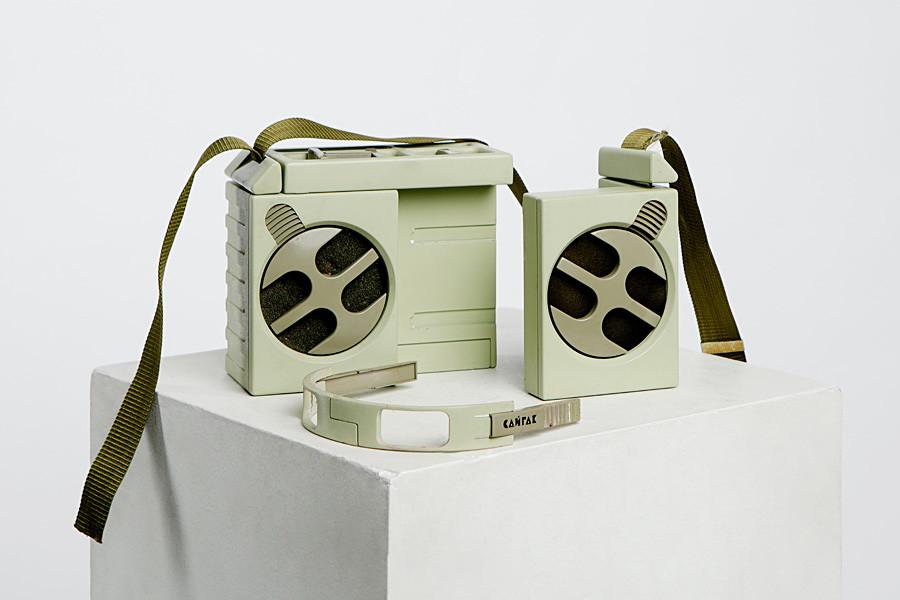 Saigak-Kassettenrecorder, mobile Variante von 1987