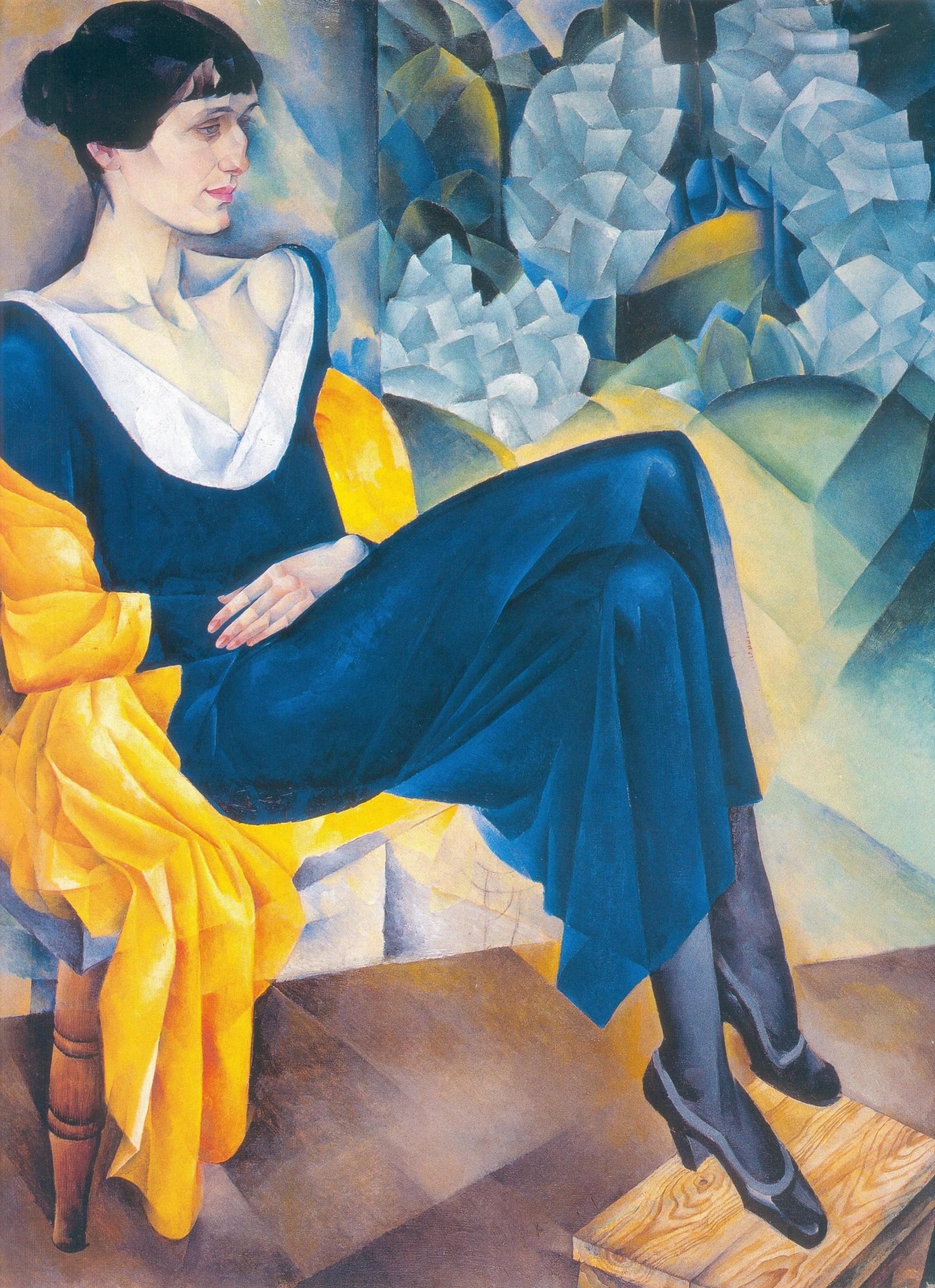 Ritratto di Anna Achmatova, Altman