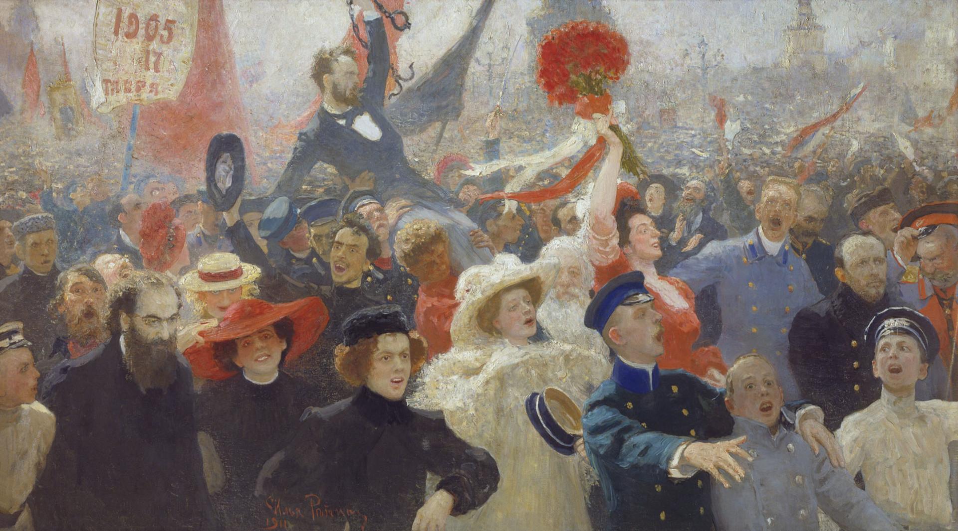 Manifestazione del 17 ottobre 1905, Repin