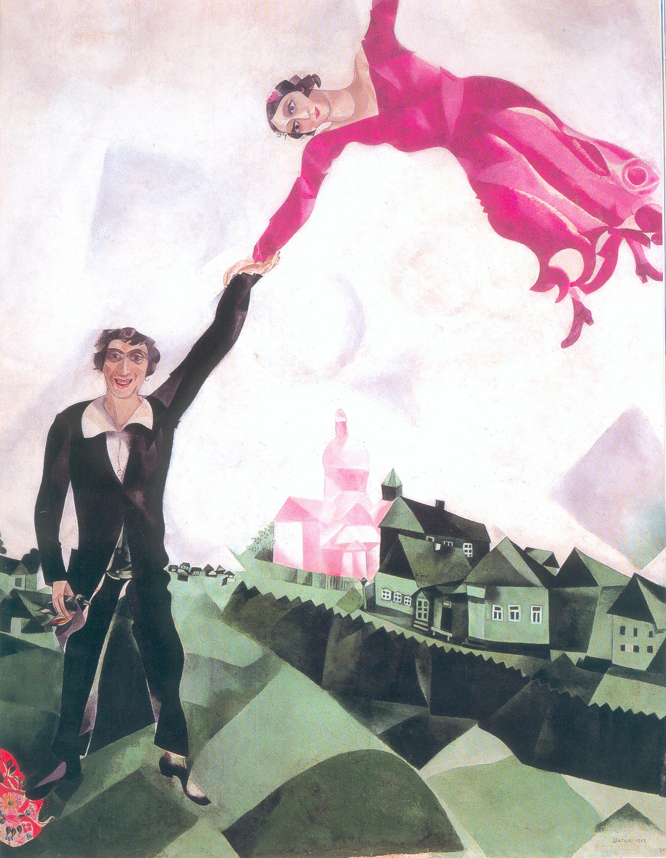 La passeggiata, Chagall