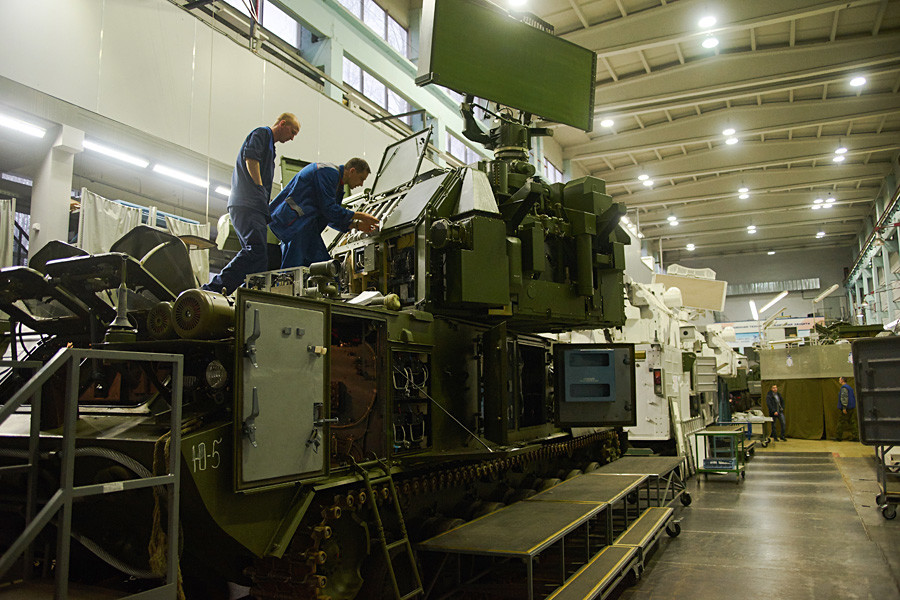 An air defense missile system is always the subject of bargaining when it's built for export.