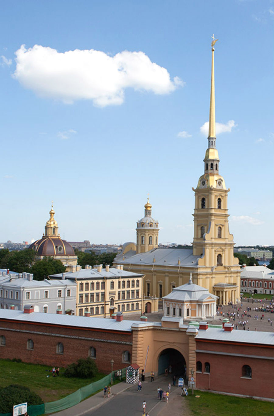 Forteresse de Pierre-et-Paul de Saint-Pétersbourg