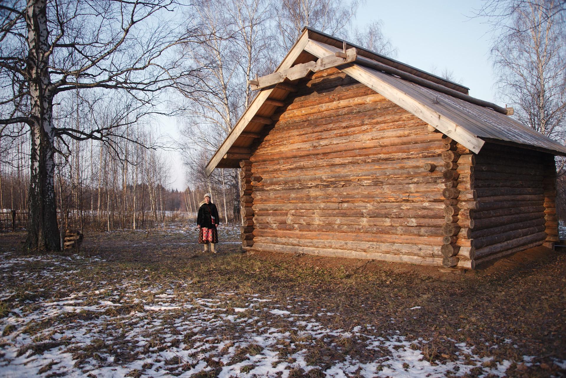 """Свештена колиба """"куала""""."""