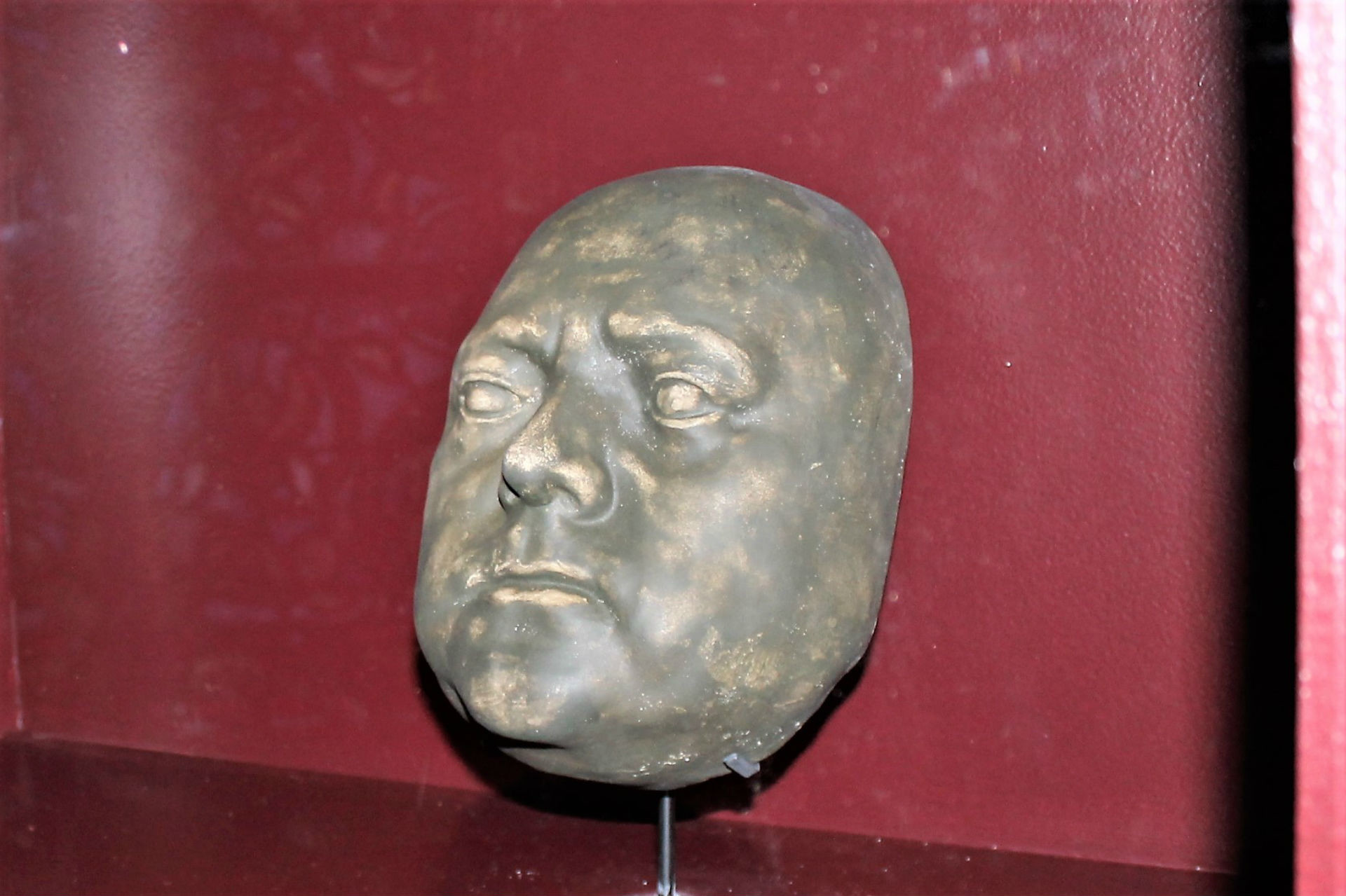 Masque moulé de Pierre le Grand