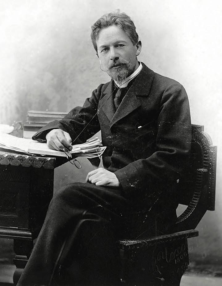 Anton Pavlovič Čehov, portret iz leta 1889
