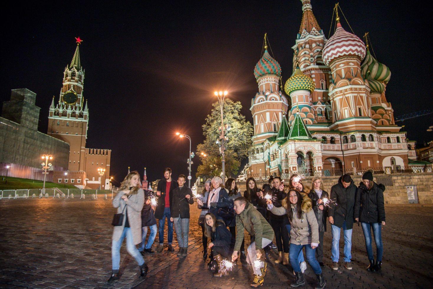 Боравак зрењанинских гимназијалаца у Москви