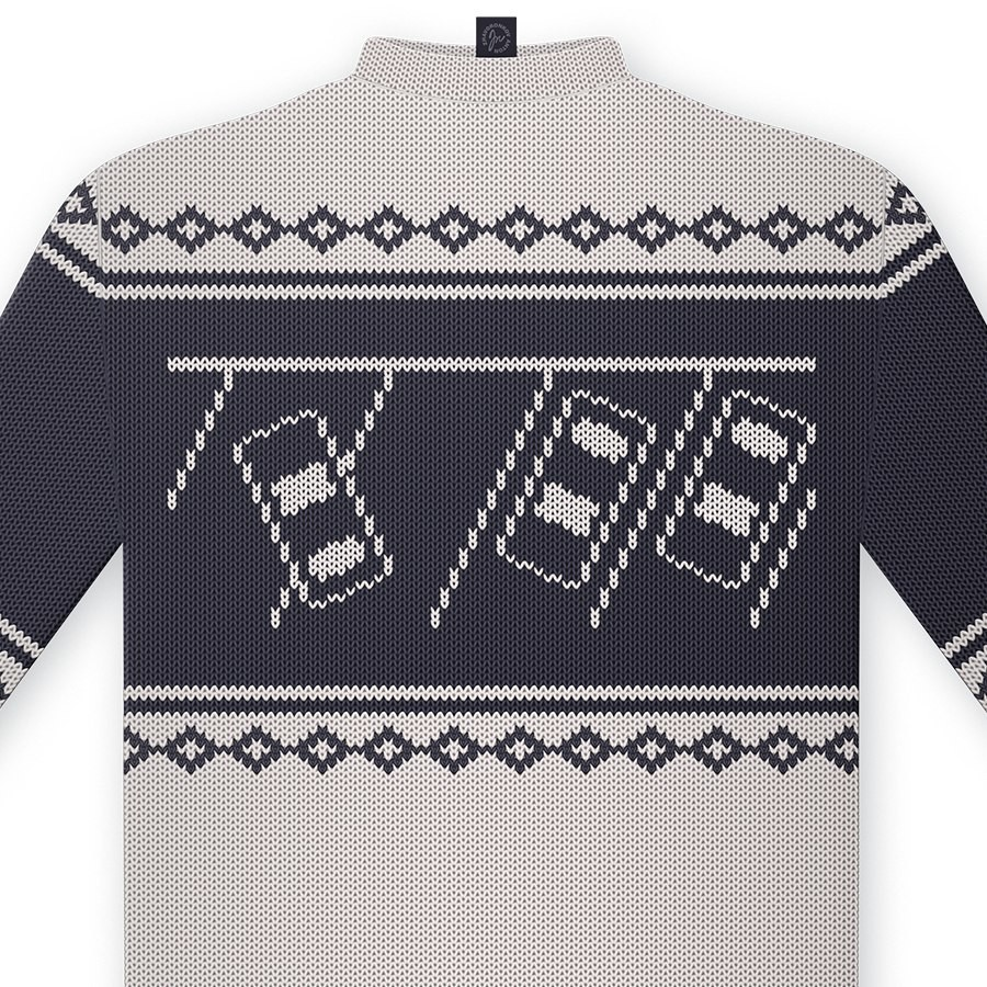 """With Christmas approaching, """"deer sweaters"""" are a hit."""