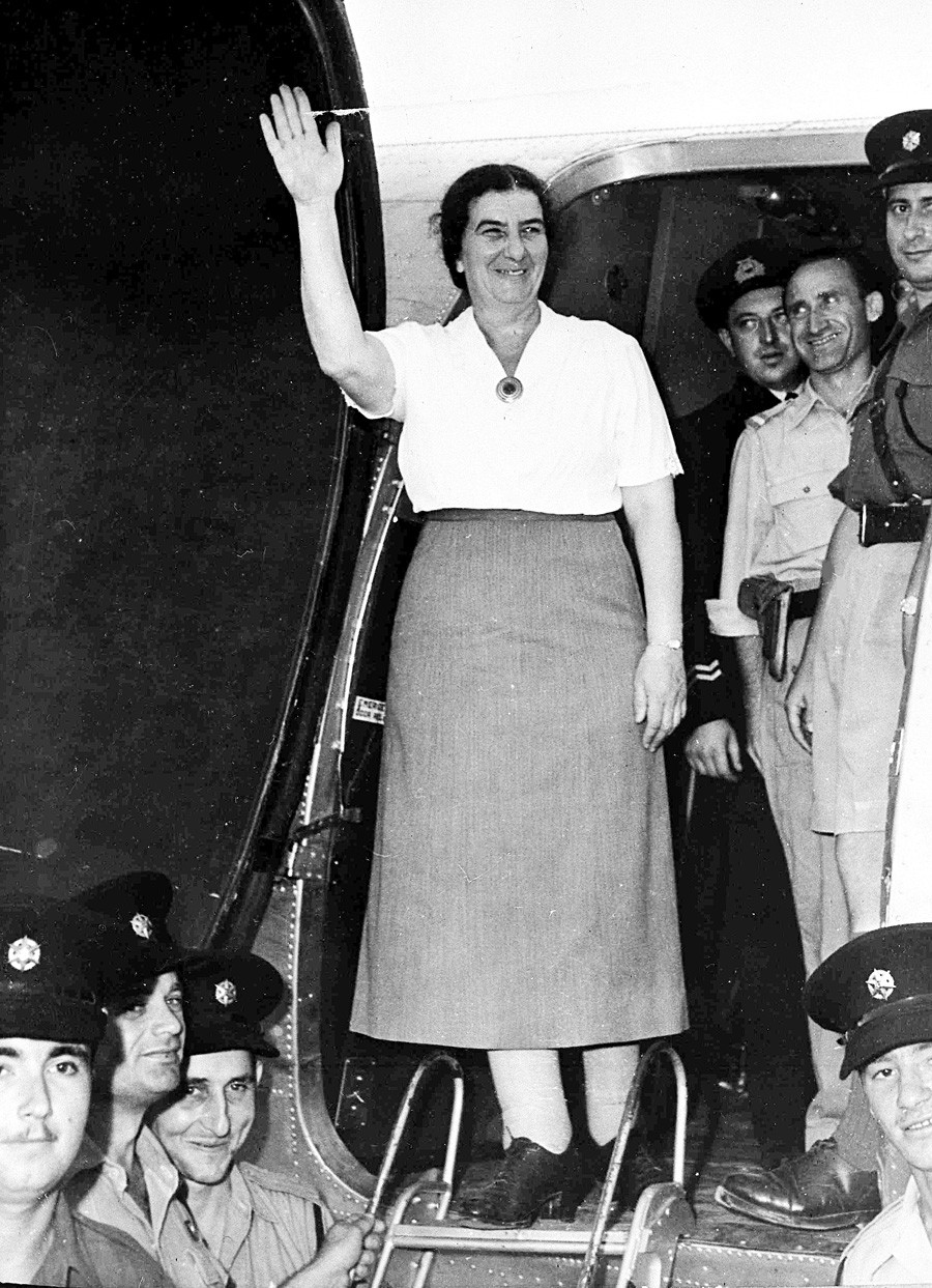 Golda Meir takes up her appointment as the first Israel Envoy to the Soviet Union