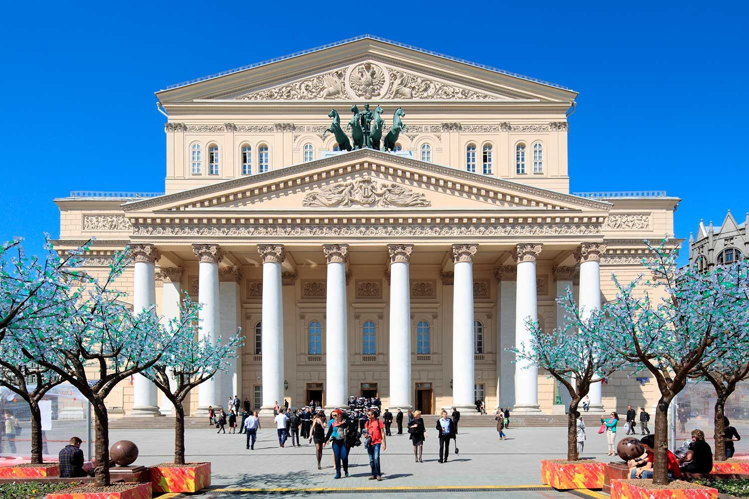 The Bolshoi Theatre began its history as an Englishmen's enterprise