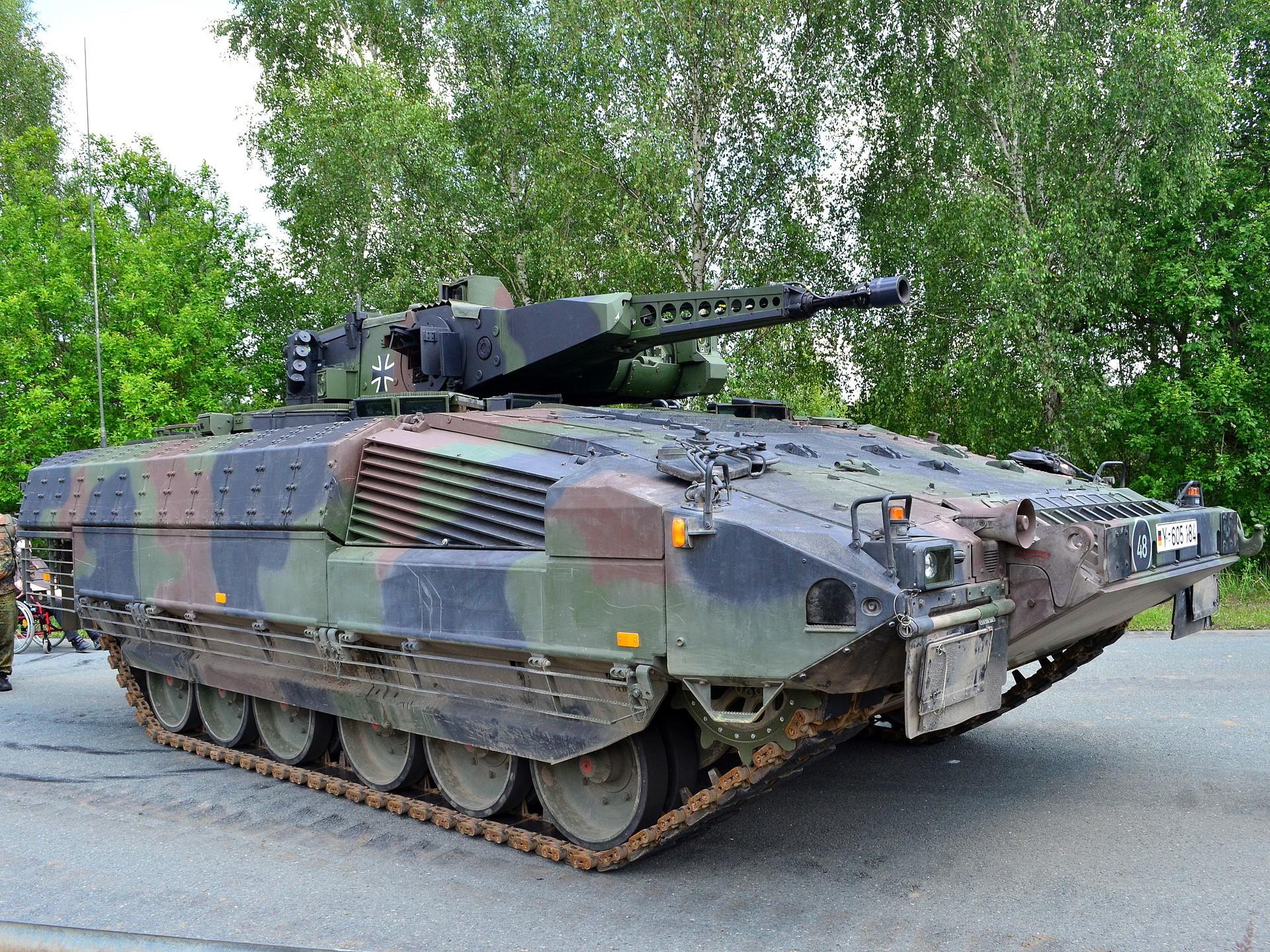 Njemački Schützenpanzer Puma tvrtke Krauss-Maffei Wegmann