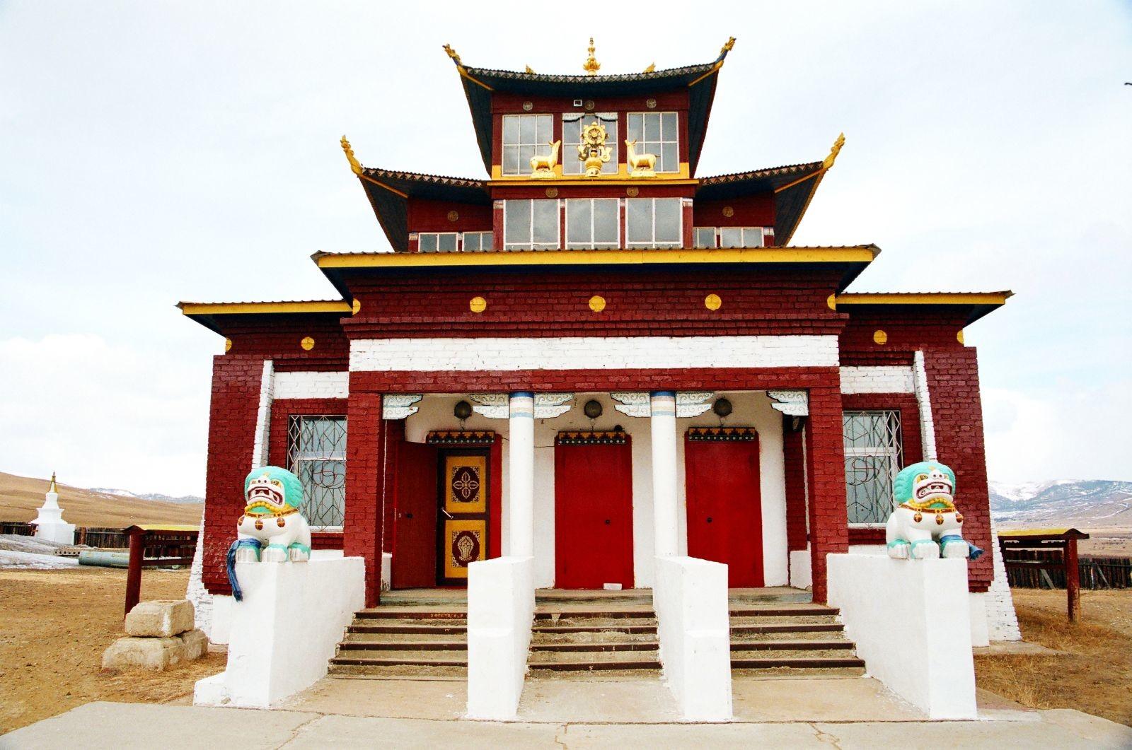 Acagatski budistični samostan