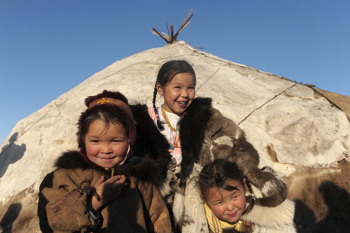 V Rusiji je prebivalstvo etnično raznovrstno.