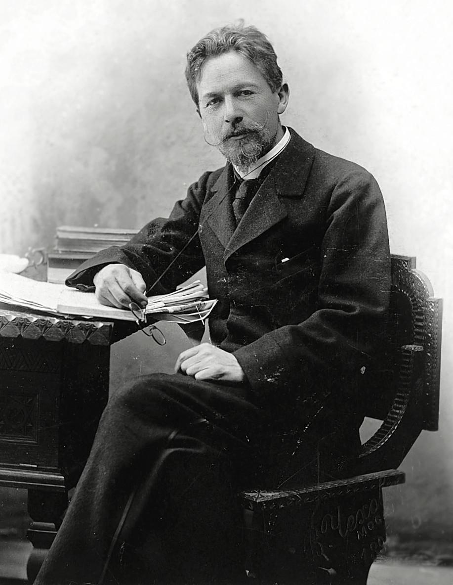 Antôn Tchékhov (1860-1904).