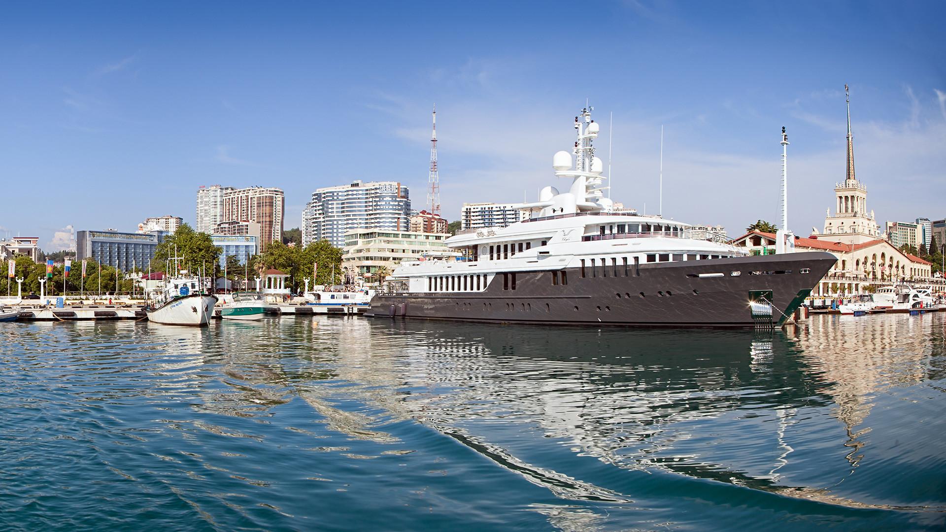 大統領のヨット「チャイカ」