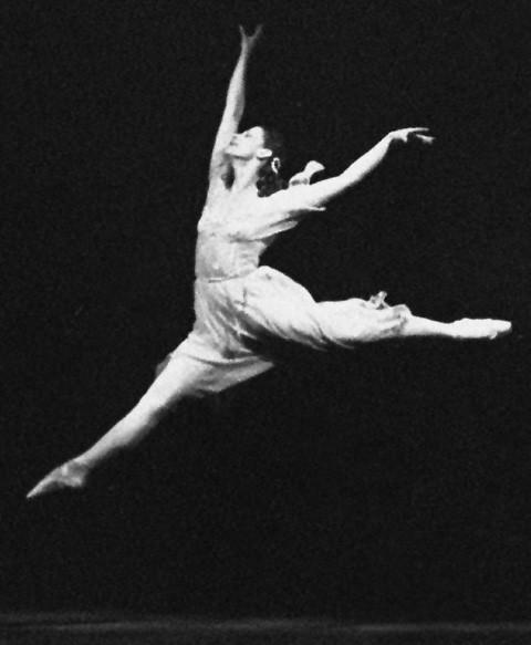 Maja Plisecka v baletu Romeo in Julija, 1961