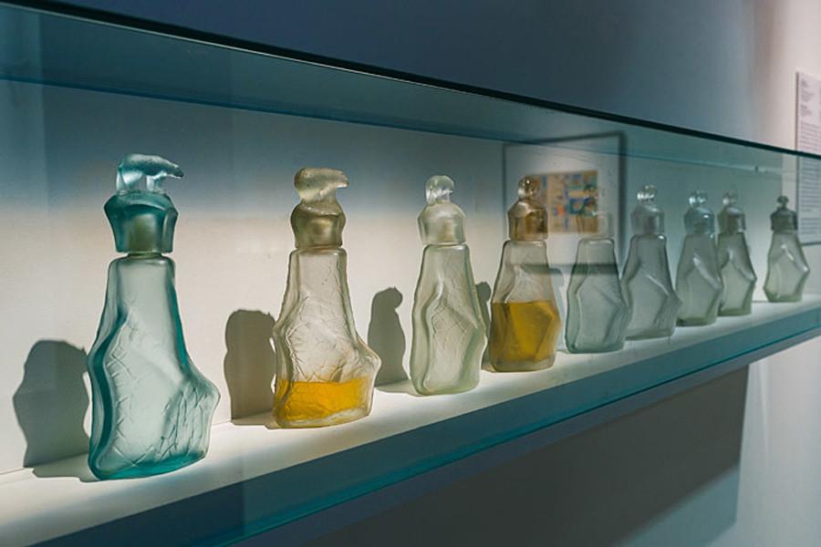 Severny Eau de Cologne Bottles.