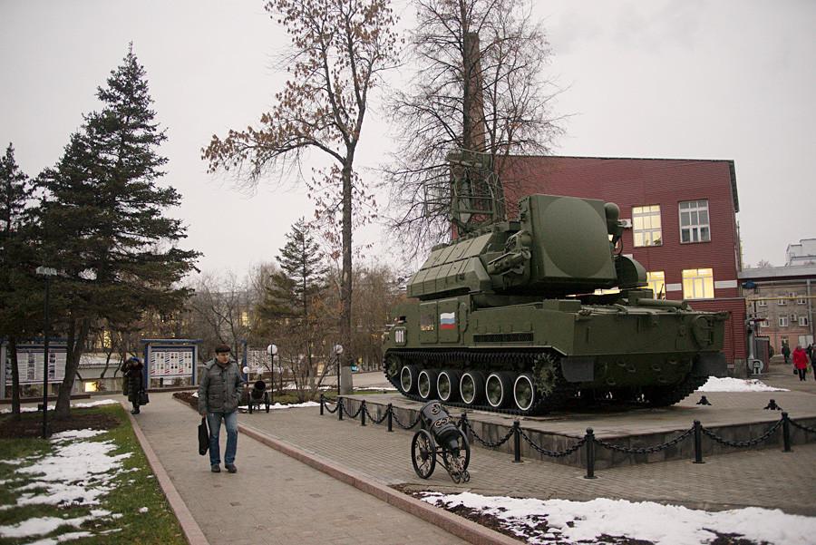 Pabrik Elektromekanis Kupol di Izhevsk.