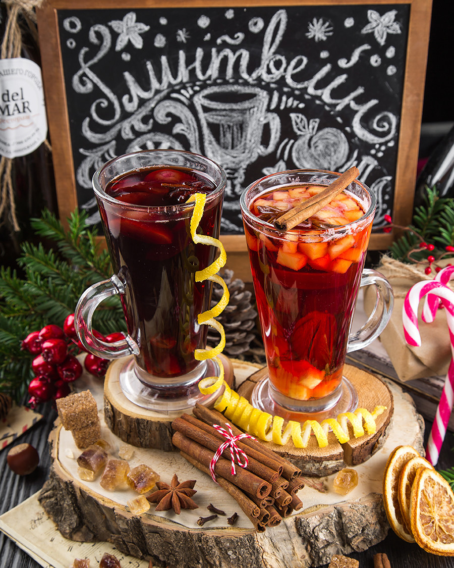 Mulled wine available on all the city's cafes and Christmas markets