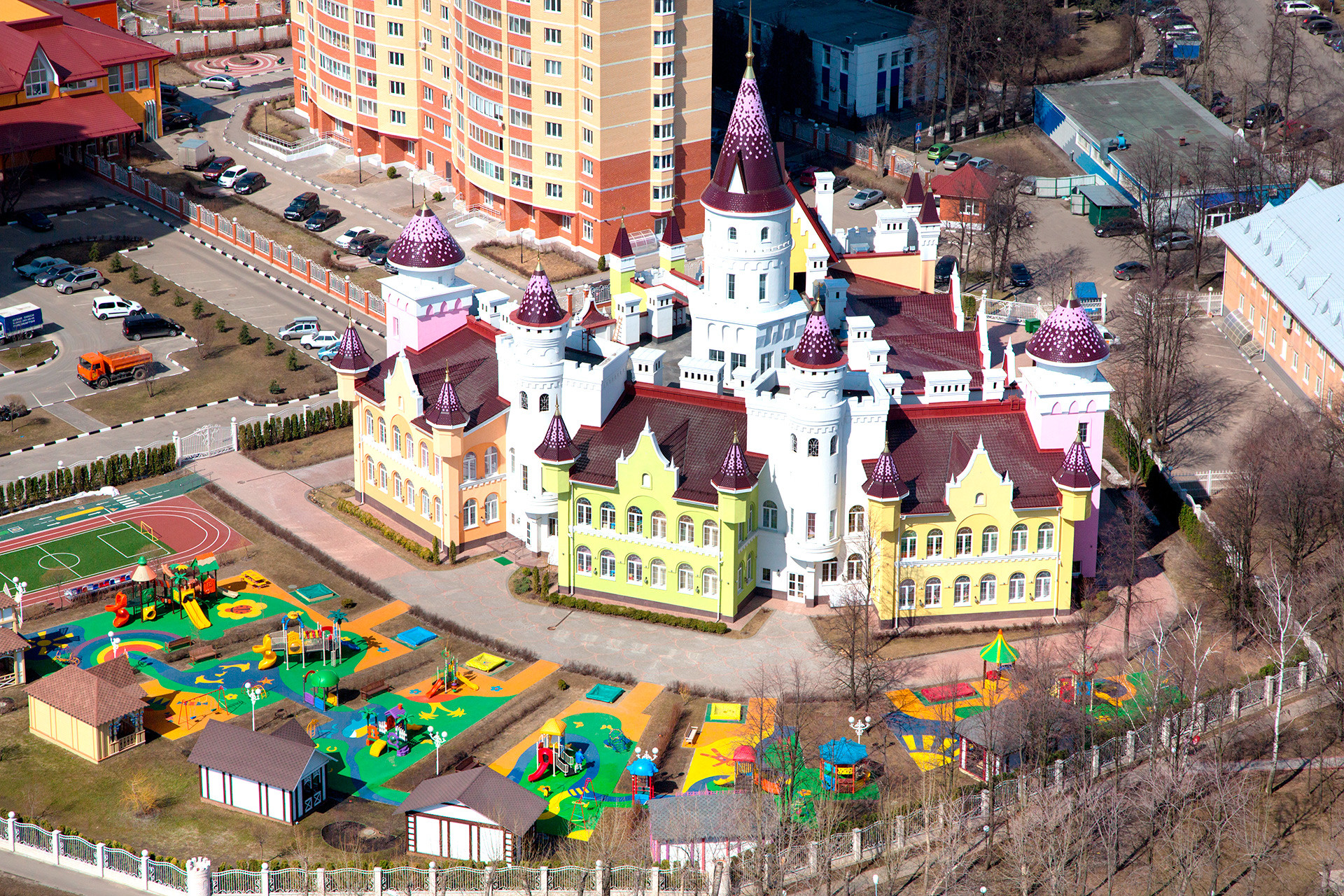 A private kindergarten news Moscow.