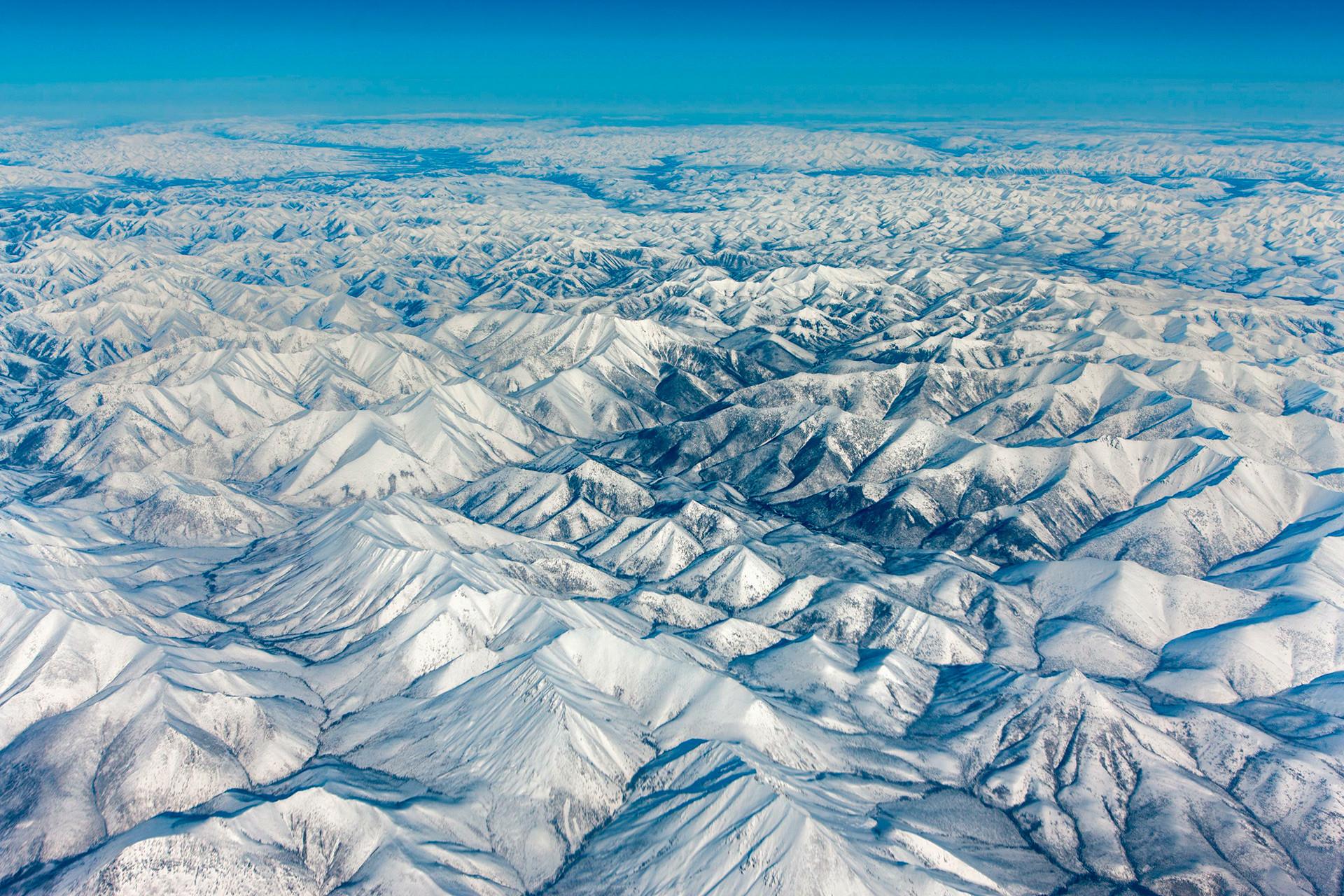 Suhu musim dingin di Yakutia bisa mencapai -77 derajat Celsius.
