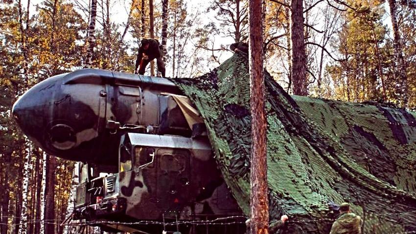 Мобилна версия на ракета РС-24