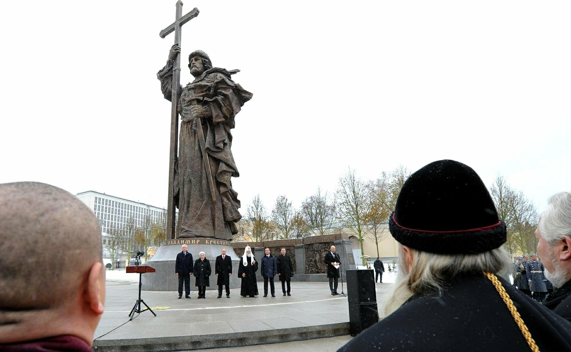 Spomenik knezu Vladimirju v Moskvi