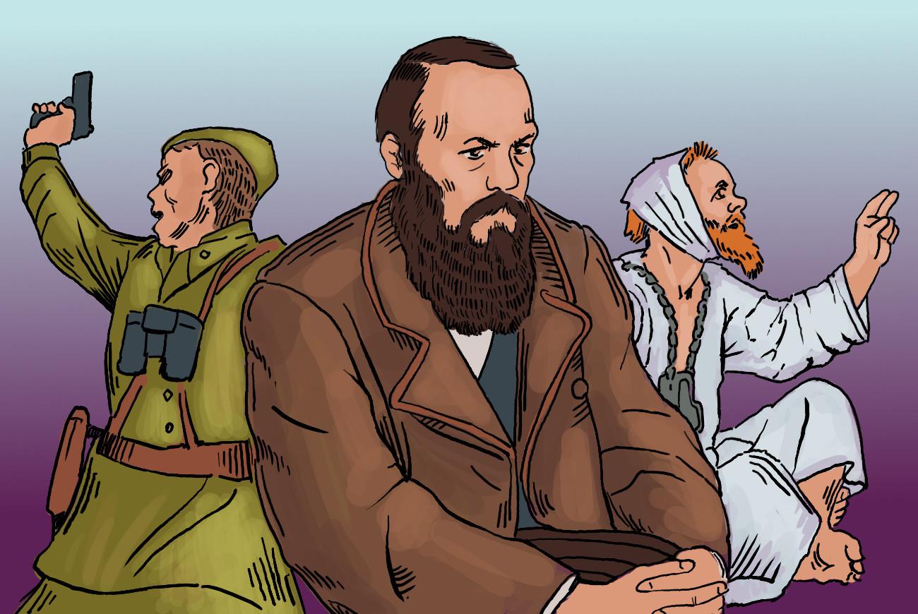 Dostojewski hat nicht nur Klassiker der Weltliteratur verfasst, sondern auch einige dieser unikalen russischen Begriffe geprägt.