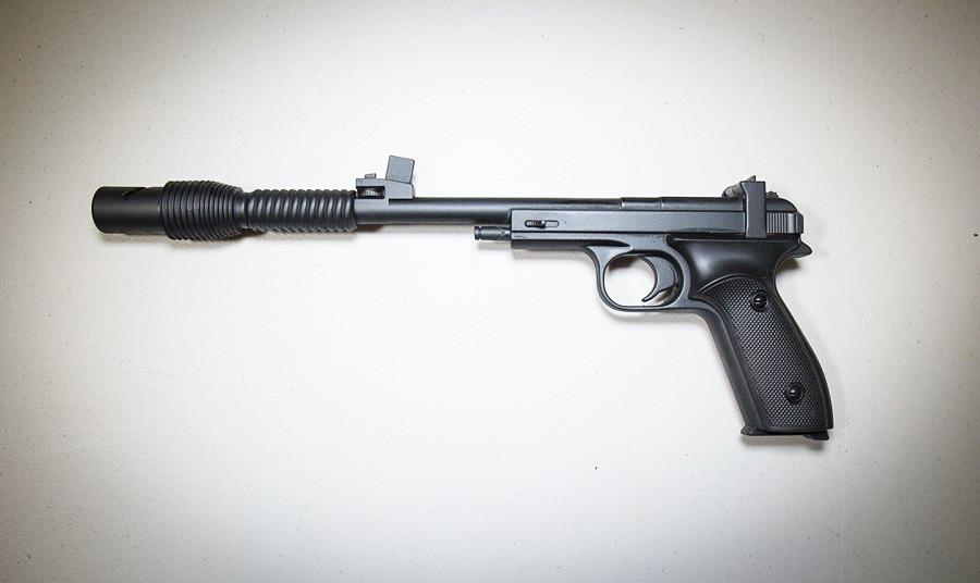 Pistola semiautomática MCM foi criada em 1948