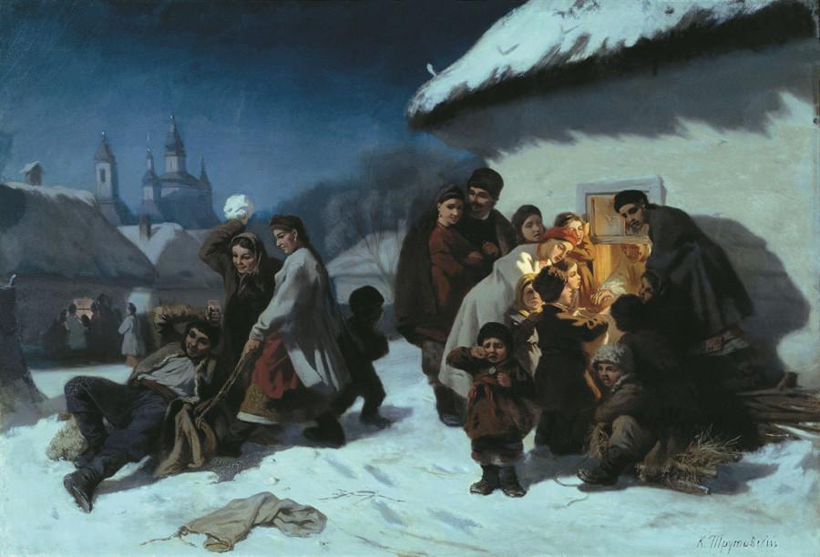 「小ロシアのコリャーダ」、コンスタンチン・トルトーヴスキイ
