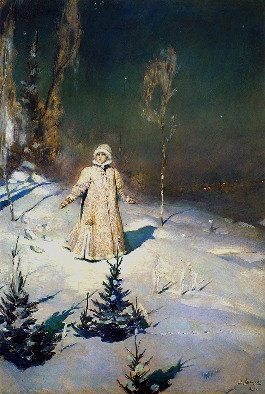 「スネグロチカ(雪娘)」、ヴィクトル・ヴァスネツォフ画