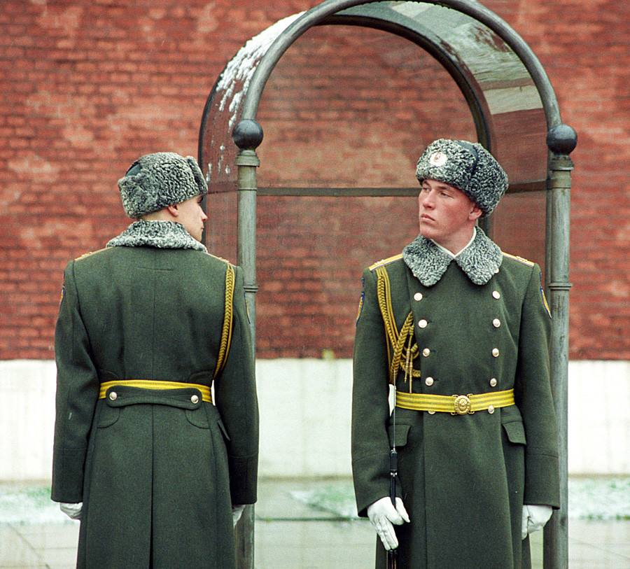 62cbc02ebd2c7 Ushankas now are the part of the Russian winter military uniform.
