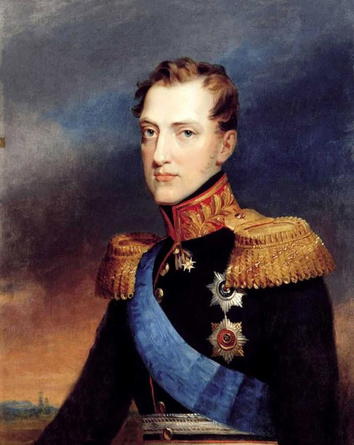 Porträt Nikolais I.von Wassilij Golike