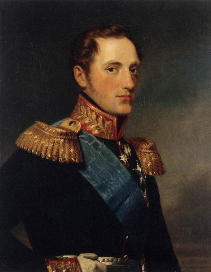 Porträt Nikolais I. von George Dawe