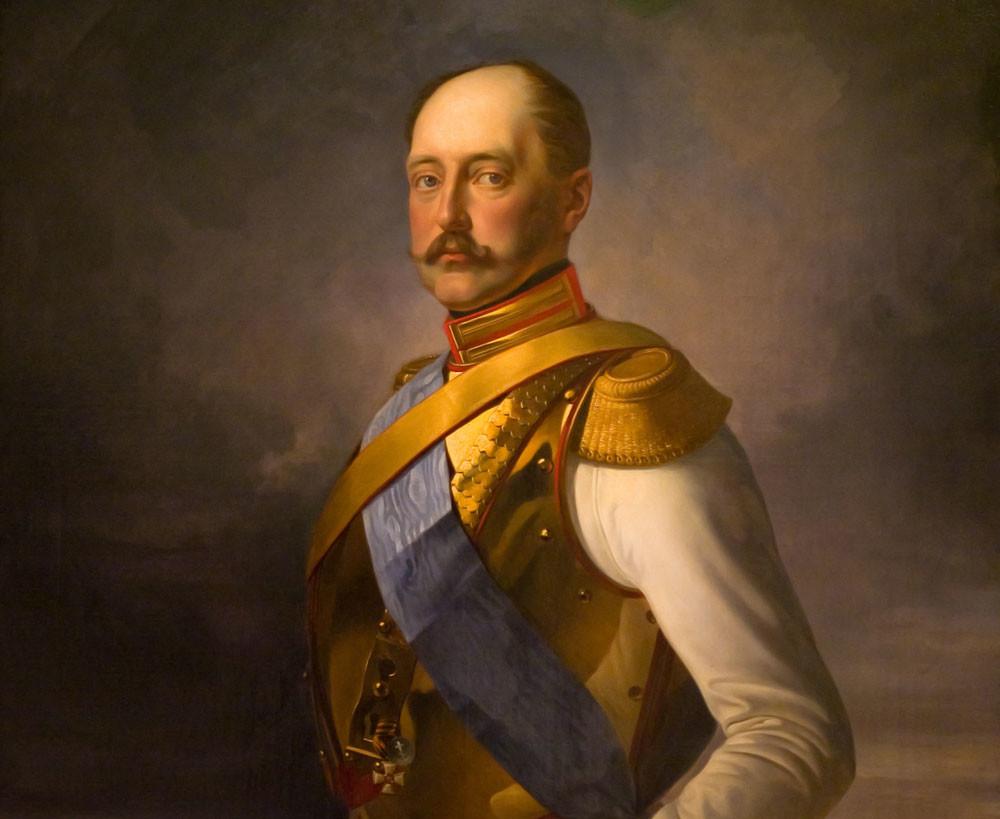 Porträt Nikolais I. von Wladimir Swertschkow
